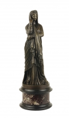 View 1: Grand Tour Bronze Figure of Pudicity, c. 1890