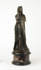 View 11: Grand Tour Bronze Figure of Pudicity, c. 1890
