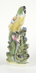 View 2: Staffordshire Figure, Possibly  Inspired by a Circus Poster, c. 1860