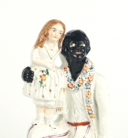"View 5: Staffordshire Figure, ""Uncle Tom and Eva"", c. 1852"