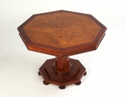 View 7: Oak Floor Panel Mounted as a Coffee Table, 19th c.