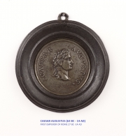 View 3: Set of Six Grand Tour Spelter Medallions, Mid 19th c.