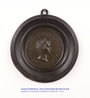 View 5: Set of Six Grand Tour Spelter Medallions, Mid 19th c.