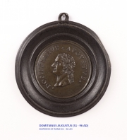 View 6: Set of Six Grand Tour Spelter Medallions, Mid 19th c.