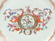 View 4: Pair of Chinese Export Armorial Plates, c. 1760