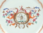 View 5: Pair of Chinese Export Armorial Plates, c. 1760