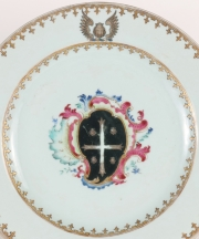View 2: Chinese Export Armorial Plate, c. 1750