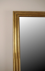 View 2: Louis Philippe Brass Mirror, Mid 19th c.