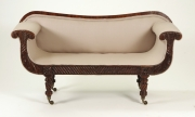 View 2: Regency Mahogany Child's Sofa, c. 1820