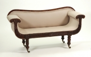 View 3: Regency Mahogany Child's Sofa, c. 1820