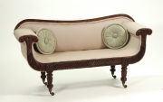 View 4: Regency Mahogany Child's Sofa, c. 1820